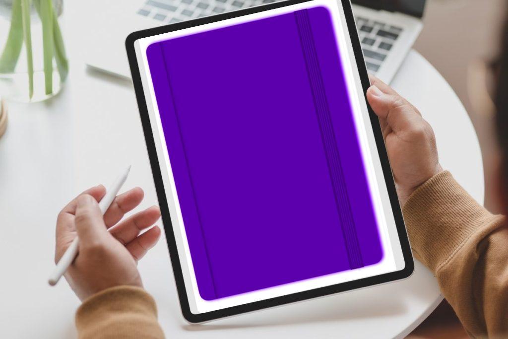 ProDuVi Notizbuch violett